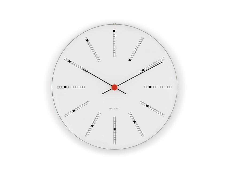 Arne Jacobsen Bankers Väggur 21 cm