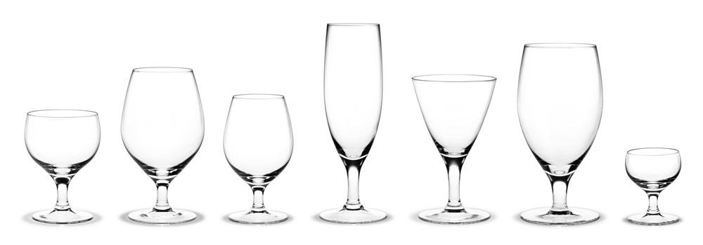 Arne Jacobsen Royal Glas Presentkartong 7 st