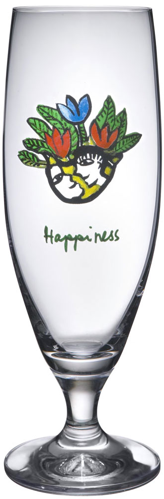 Kosta Boda Friendship Ölglas Happiness 50 cl