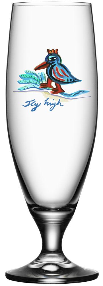 Kosta Boda Friendship Ölglas Fly High 50 cl