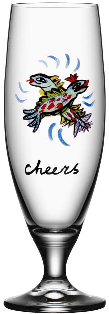 Kosta Boda Friendship Ölglas Cheers 50 cl