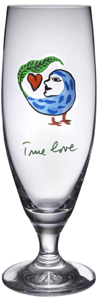 Kosta Boda Friendship Ölglas True Love 50 cl