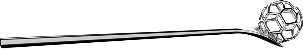 Alessi Acacia Honungsslev rostfritt stål