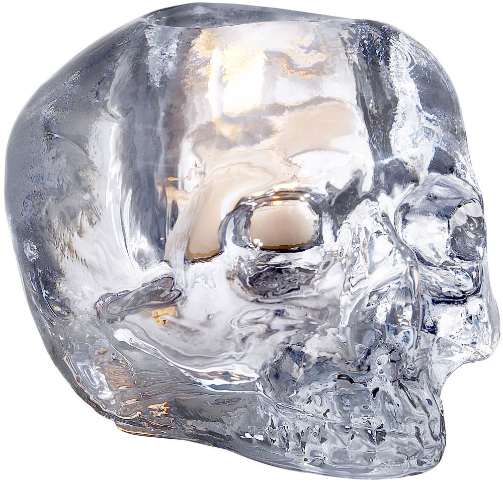 Kosta Boda Still Life Skull Ljuslykta Klar