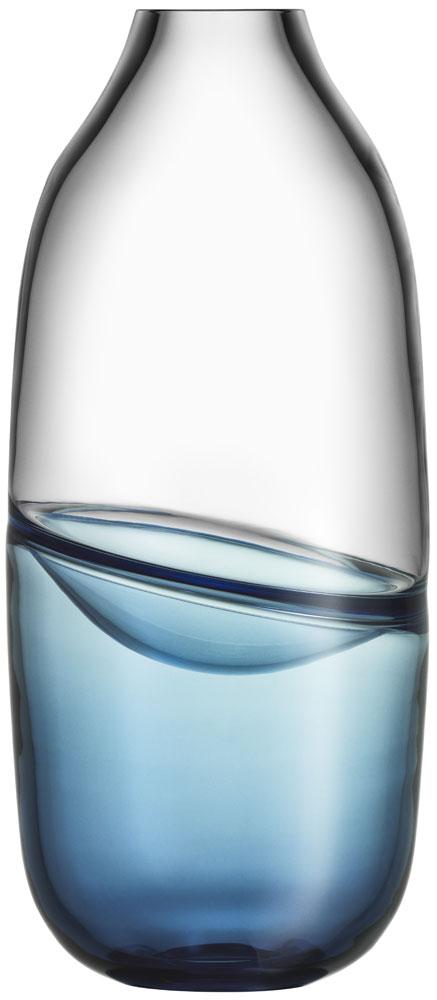 Kosta Boda Septum Stålblå Vas Limited Edition