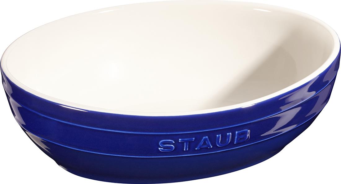 Staub Skålset Oval 23 & 27 cm Blå