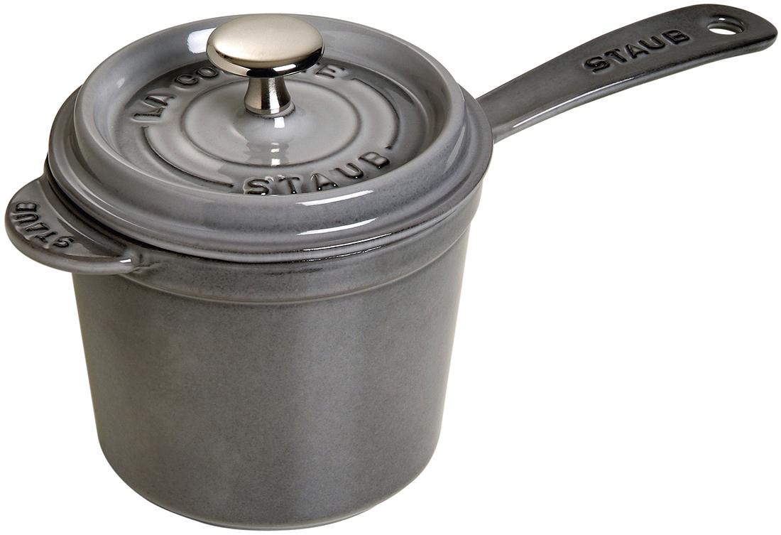 Staub Såskastrull 1,2 liter, Grå