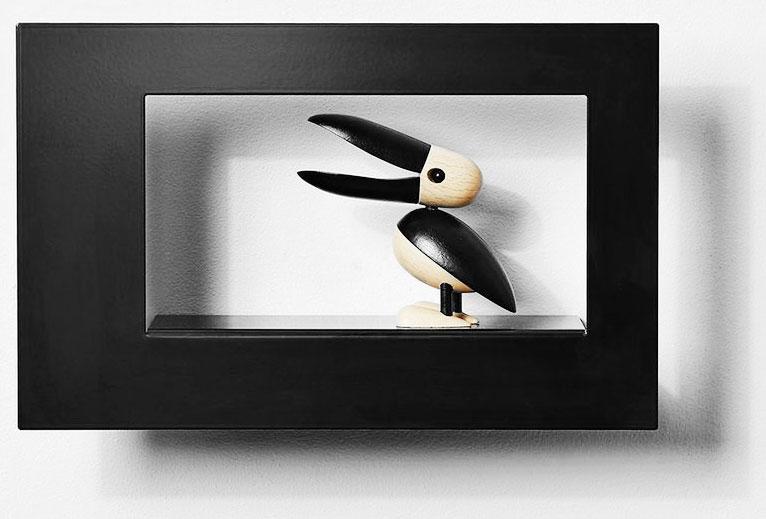 Scandinavian Design Factory Frame Bilderamme Wide cm Svart