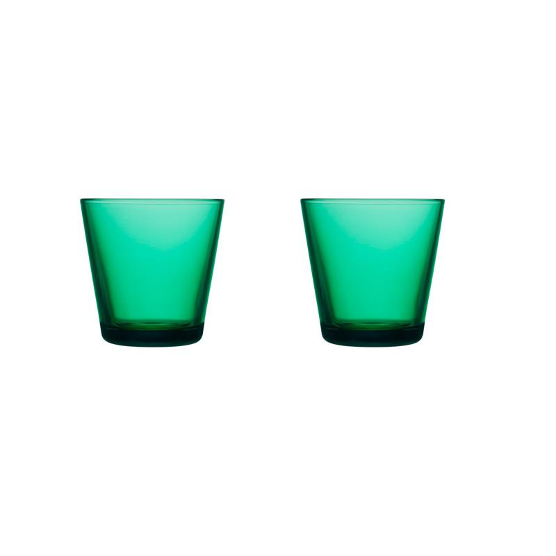 Iittala Kartio Dricksglas 21 cl Smaragd 2 st