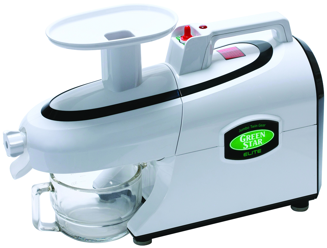 Tribest Greenstar Elite GSE-5000-B Jumbo Twin Gear Juicer