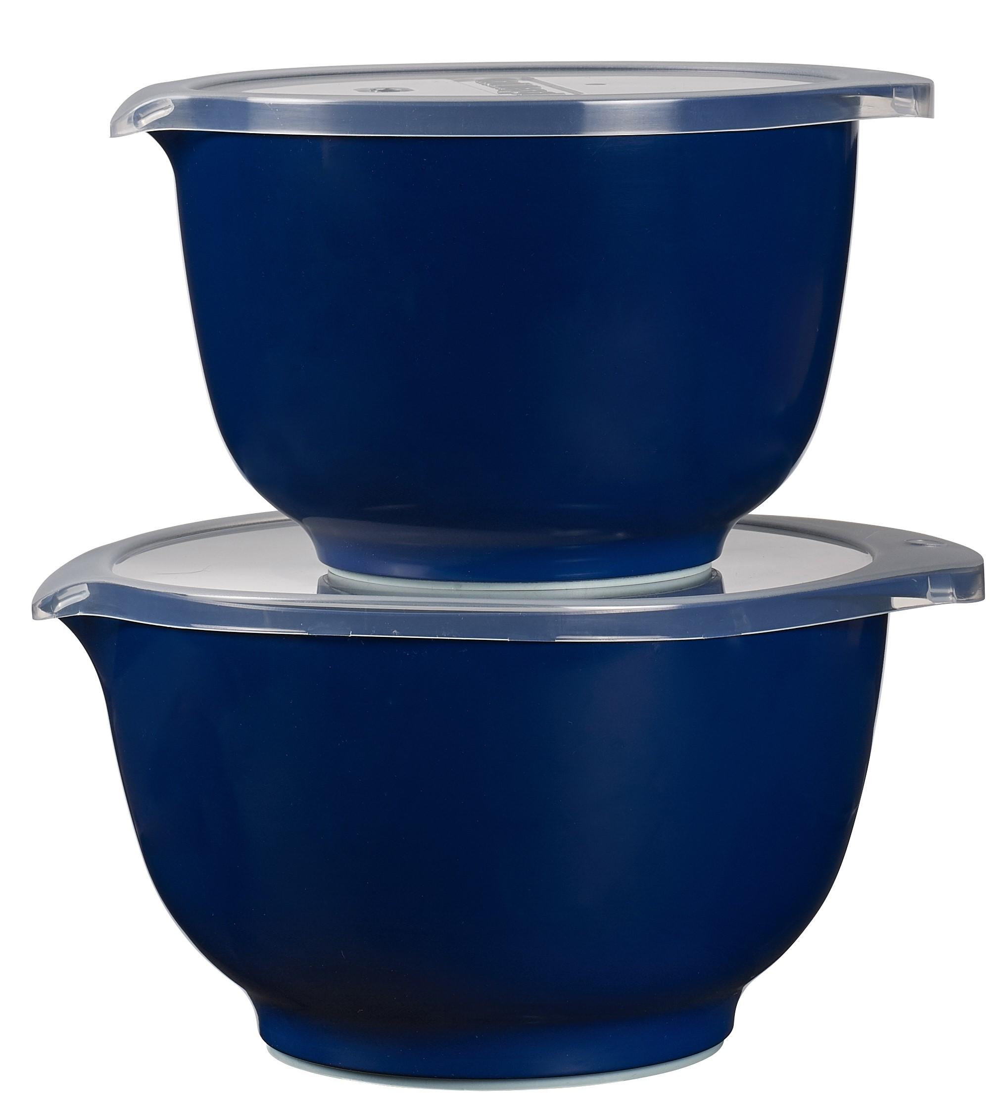Rosti Margrethe Skålset med 2l+3l samt lock Indigo Blue