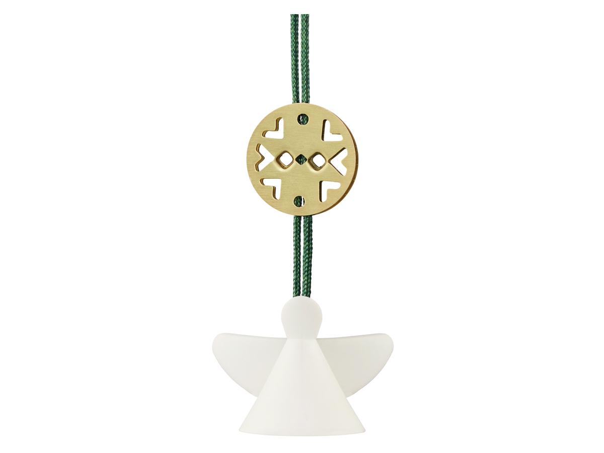 Stelton Nordic julornament ängel, mini - keramik