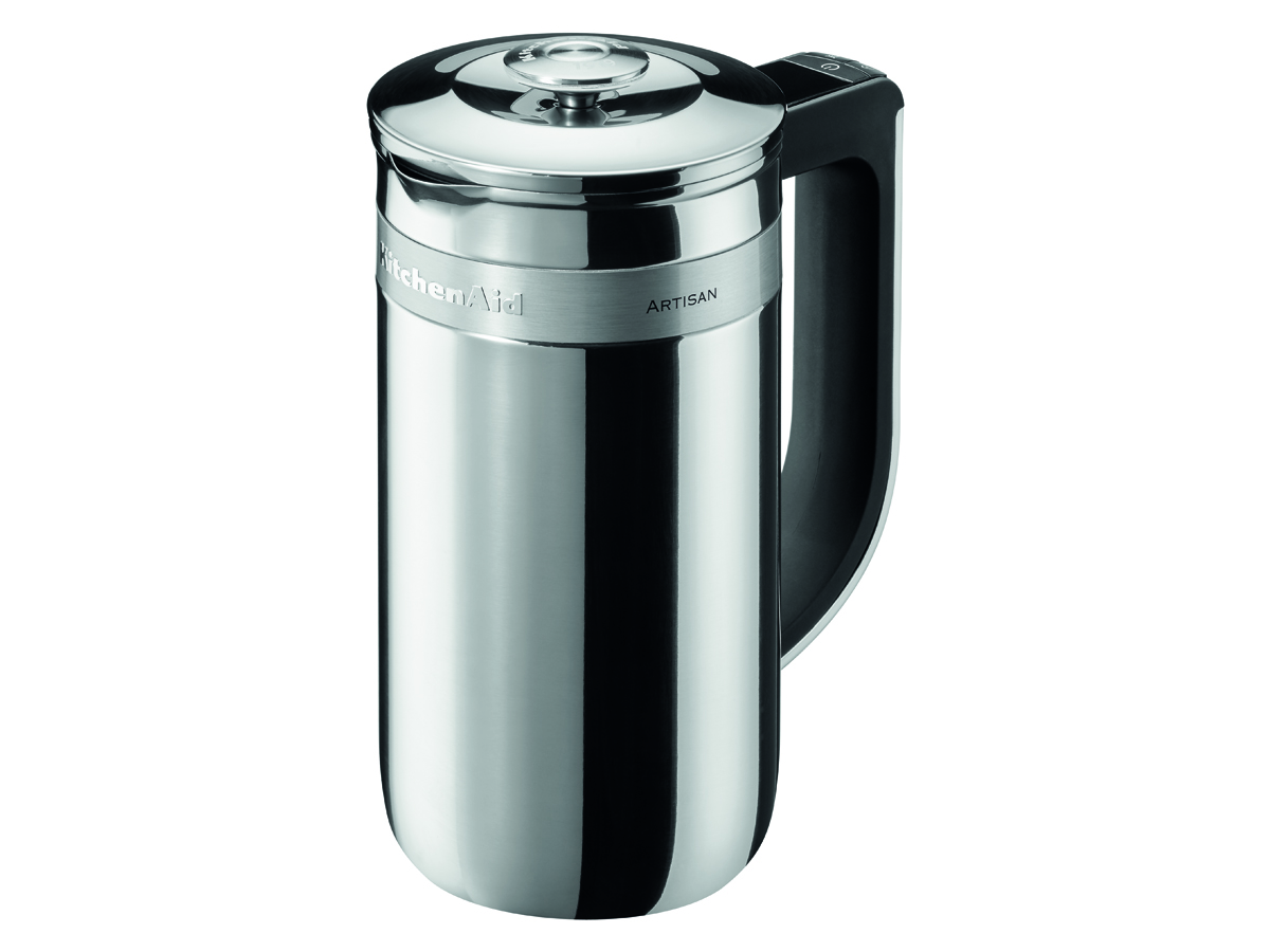 KitchenAid Presskanna Stål med integrerad vikt och stoppur – 07 liter