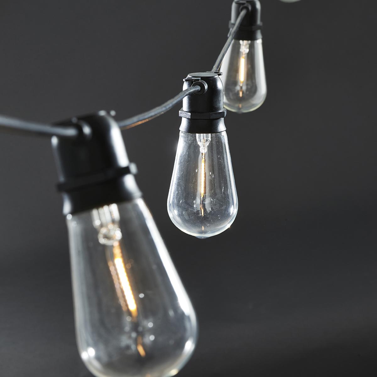 House Doctor Function Ljusslinga LED Svart 10 st