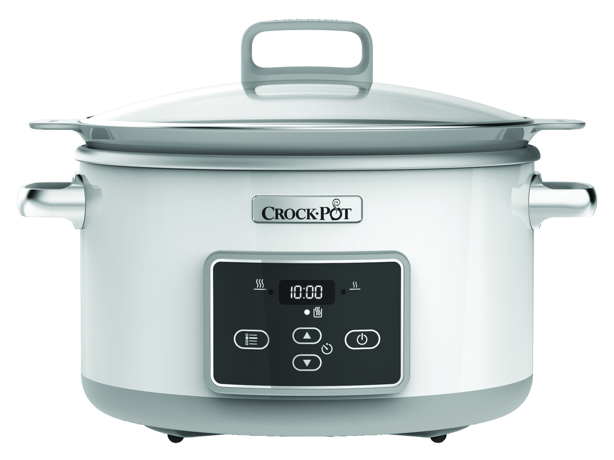 Crock Pot Slowcooker One Pot Cooking 50 L Induktion Duraceramic Timer Vit