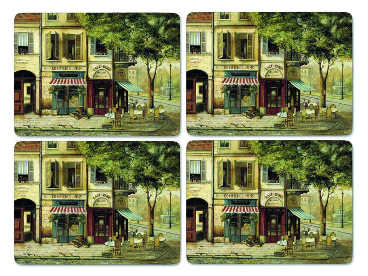 Pimpernel Bordsunderlägg Parisian Scenes Bordsunderlägg 4-pack