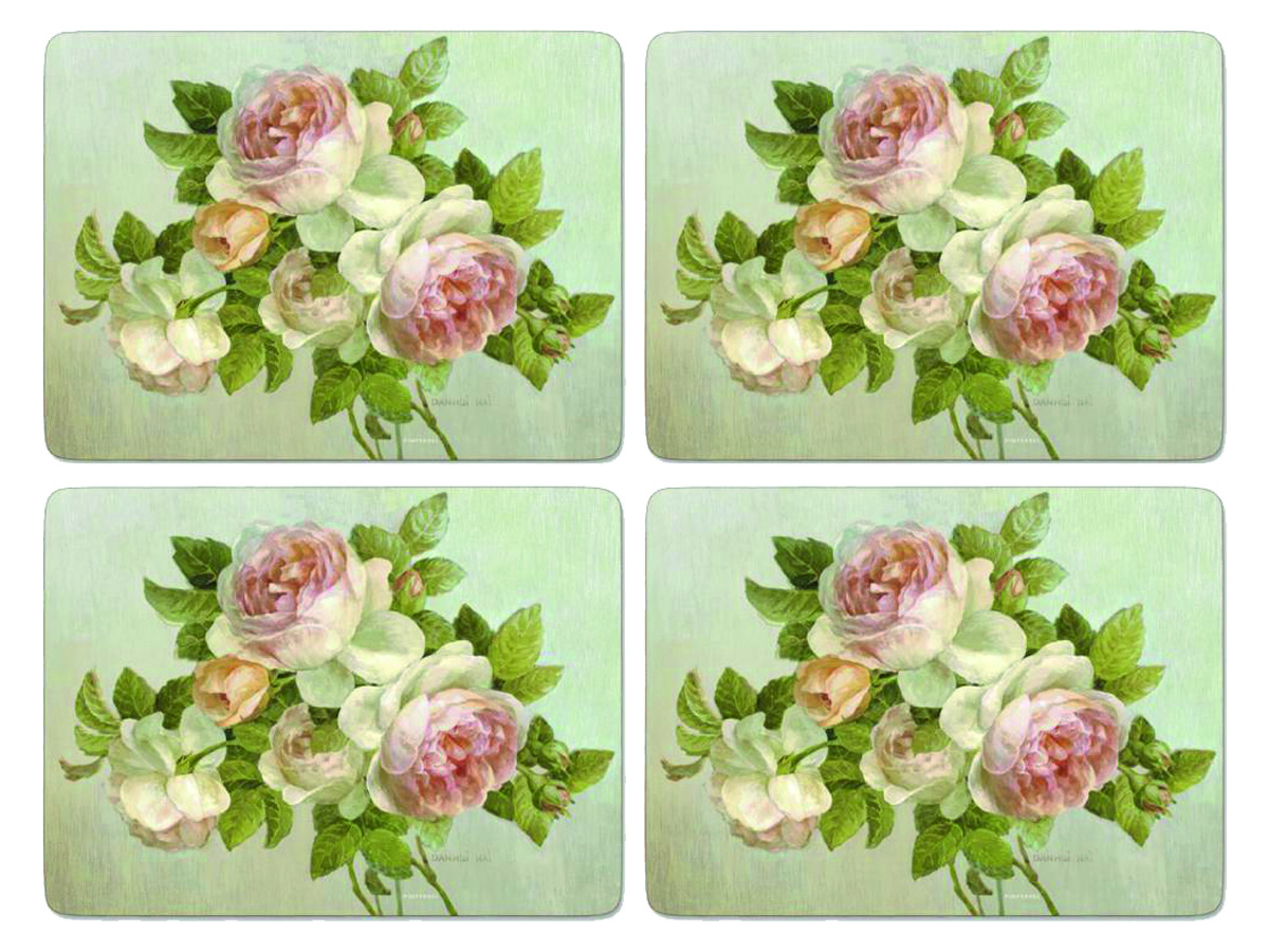 Pimpernel Antique Rose Bordsunderlägg 4-pack