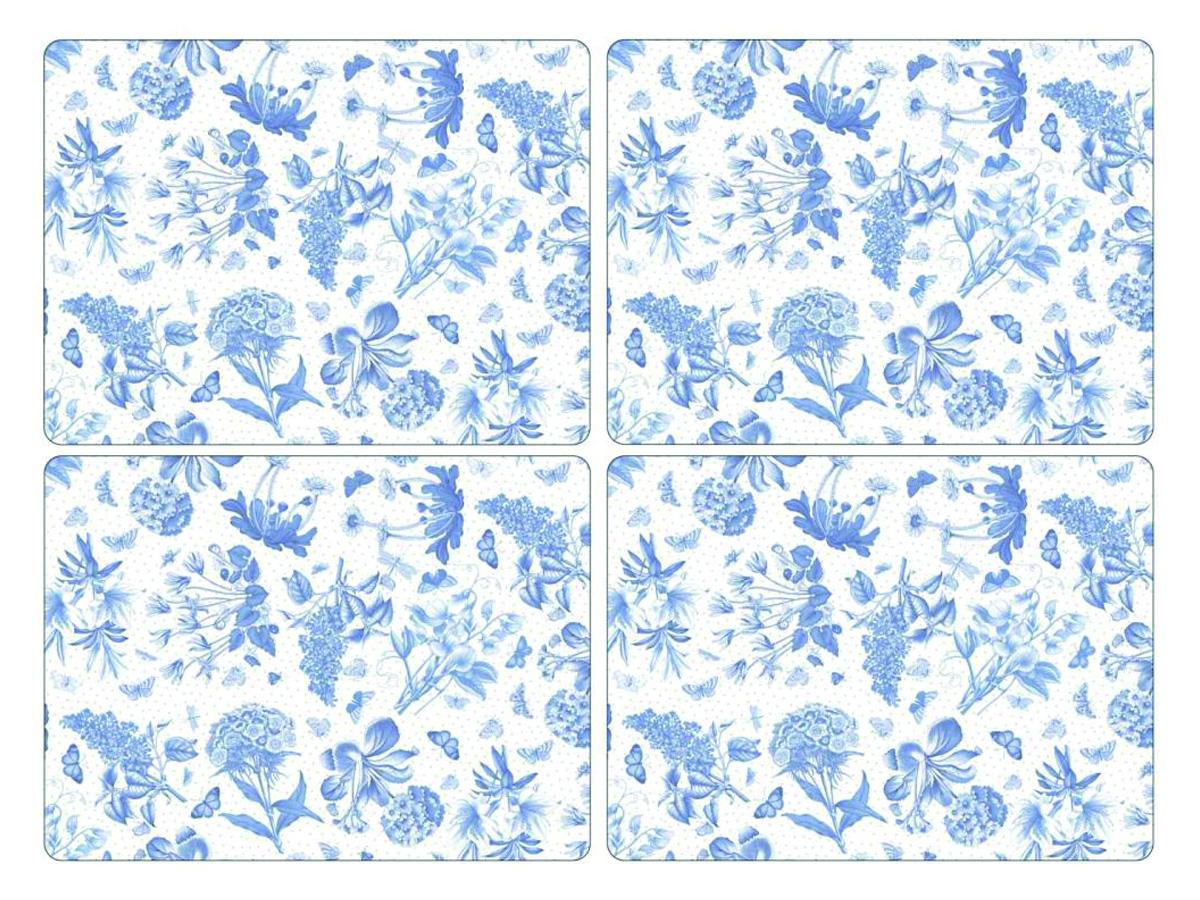 Portmeirion Botanic Blue Bordsunderlägg 4-pack