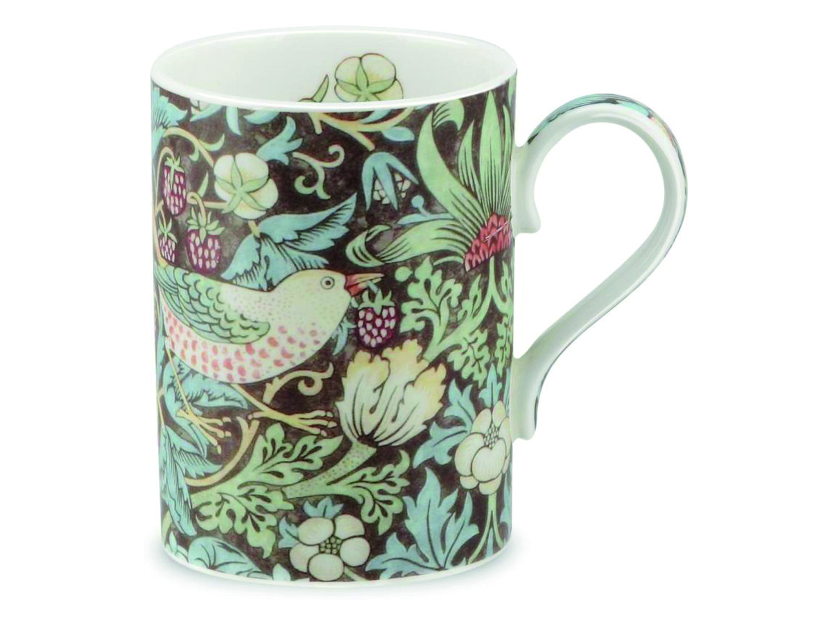 Royal Worcester Strawberry Thief Choklad Mugg med  Öra 35cl