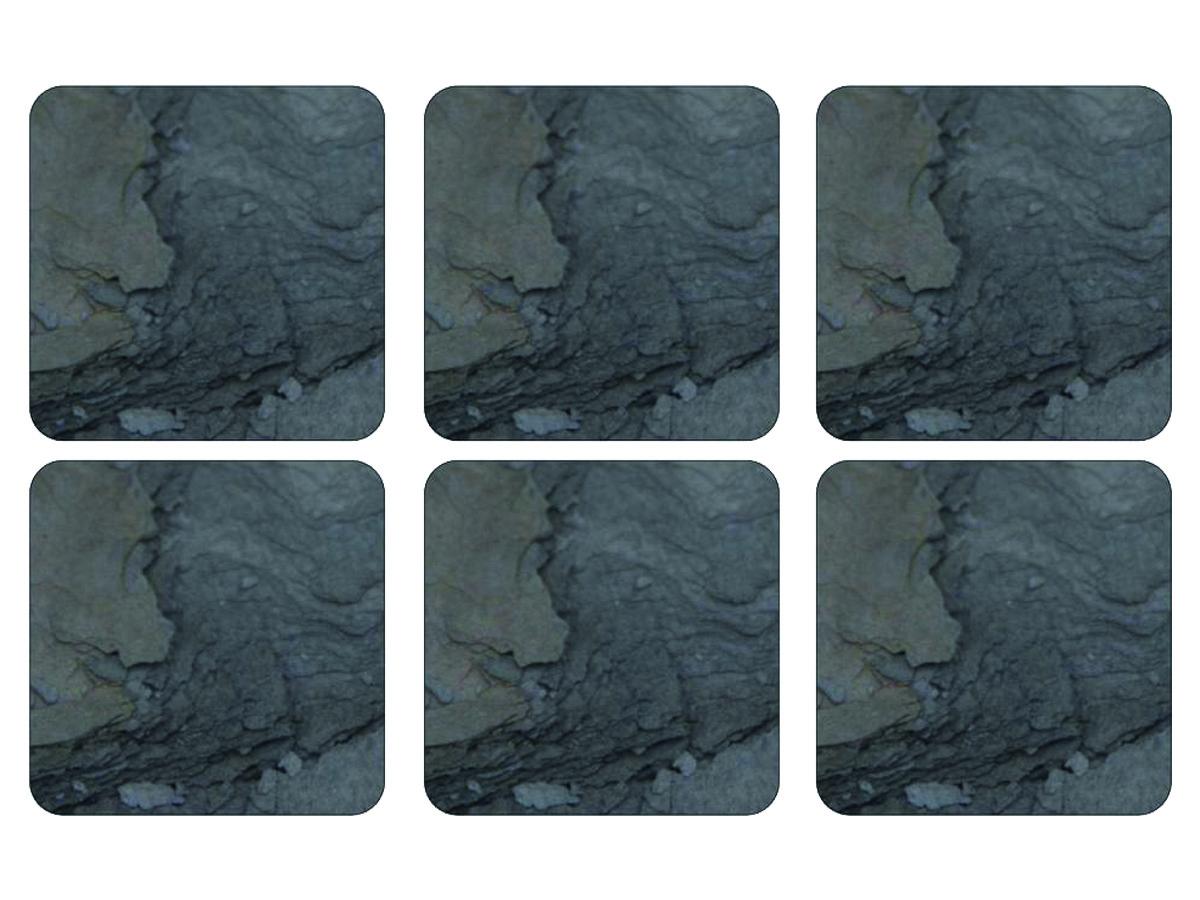 Pimpernel Midnight Slate Glasunderlägg 6-pack