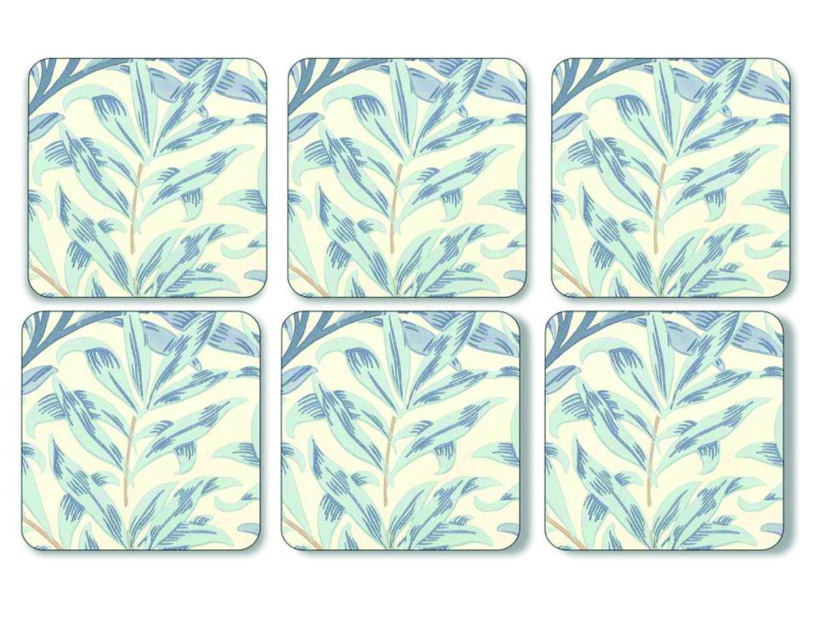 Pimpernel Willow Bough Blå Glasunderlägg 6-pack