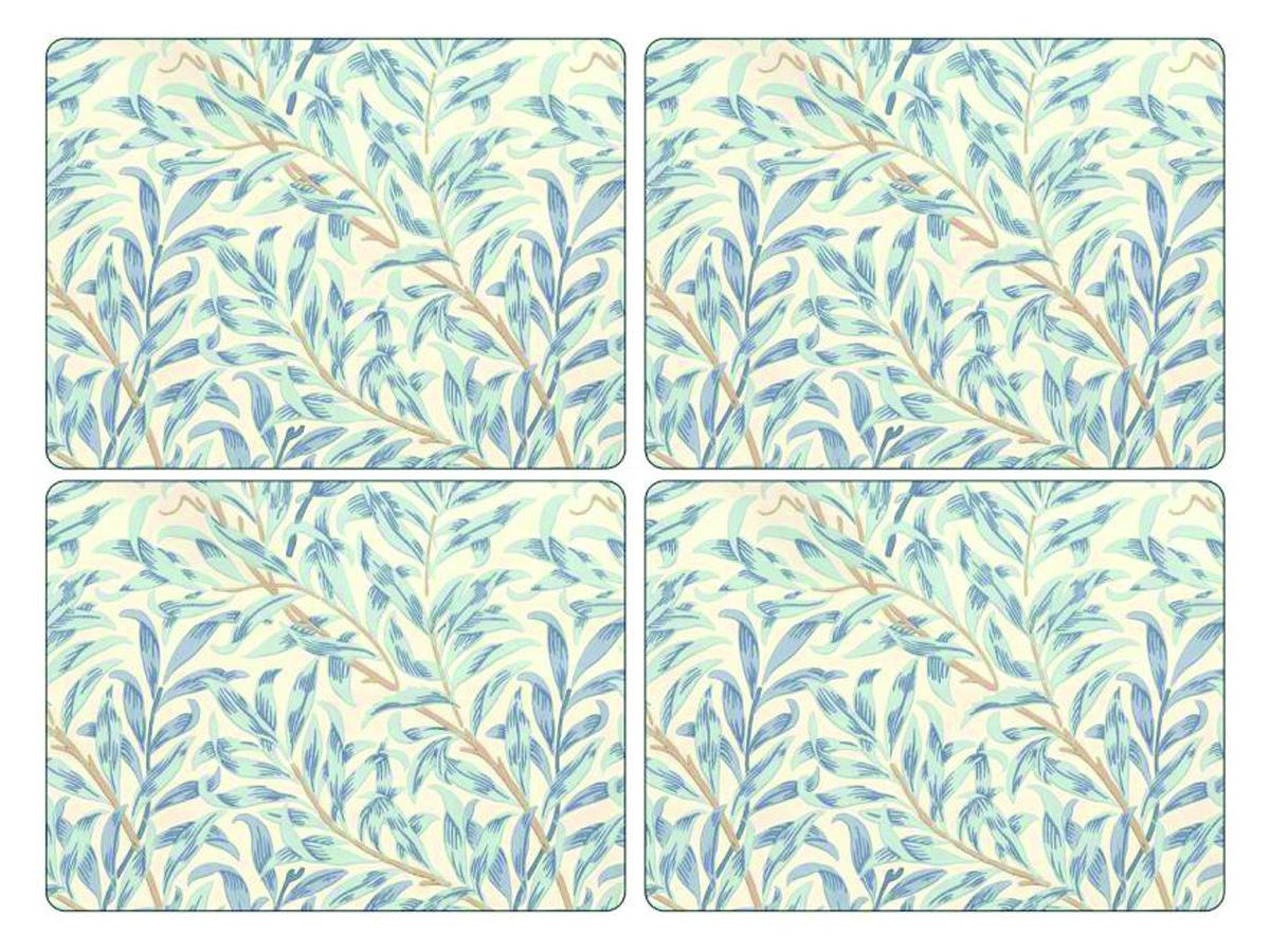 Pimpernel Willow Bough Blå Bordsunderlägg 4-pack