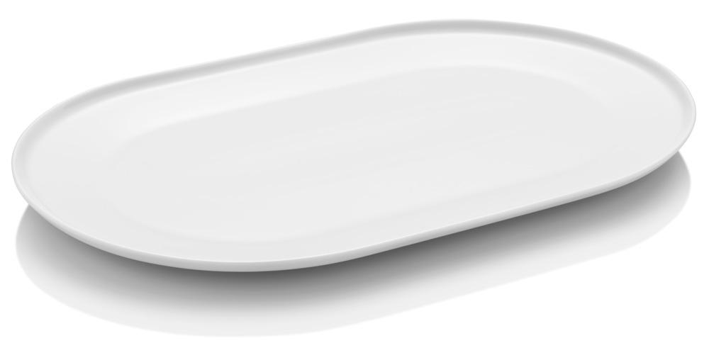 Aida ENSO Oval Tallrik 35 x 22 cm Vit