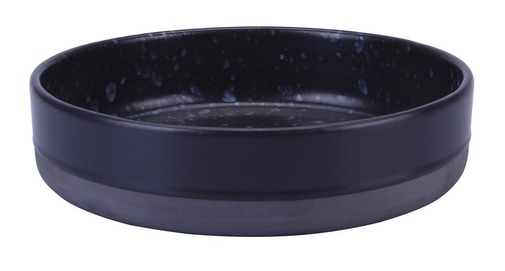 Aida Raw Soppskål 18 cm Blåprickig Stengods