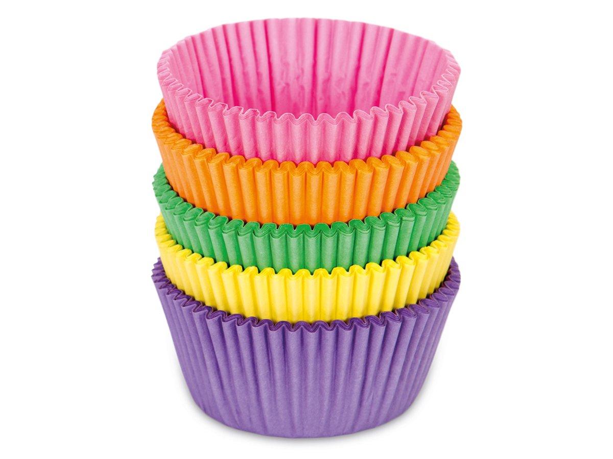 Pappersformar Bullar/muffins Färggladmix 100 st