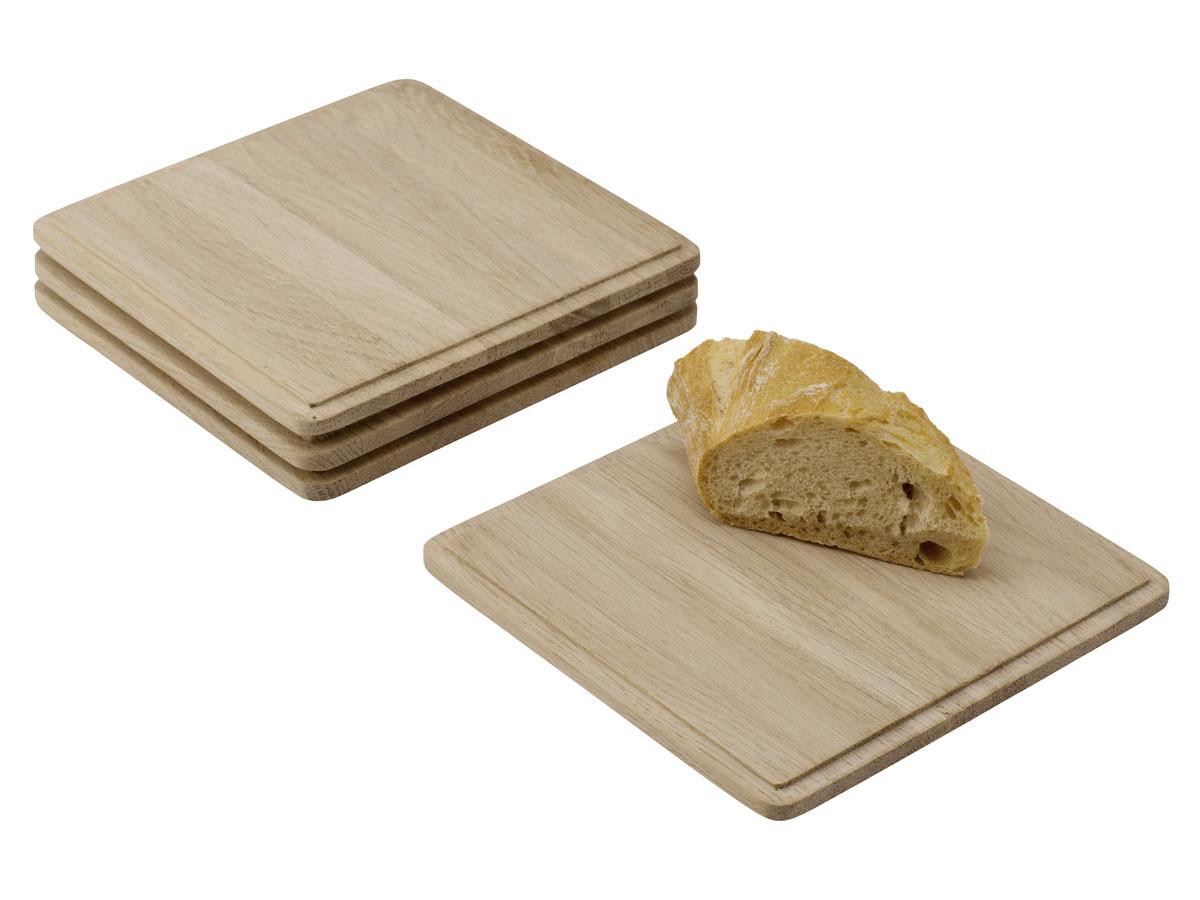 Skagerak Plank Serveringsbrett/Plankebiffjøl Kvadratisk Eik
