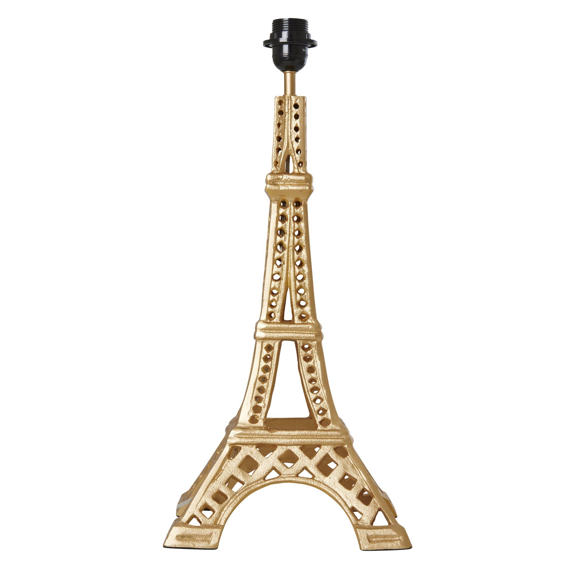 Rice Bordslampa Eiffeltornet Metall Guld