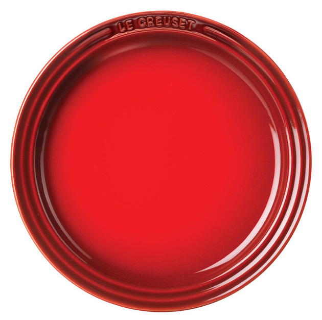 Le Creuset Middagstallrik 27 cm Röd