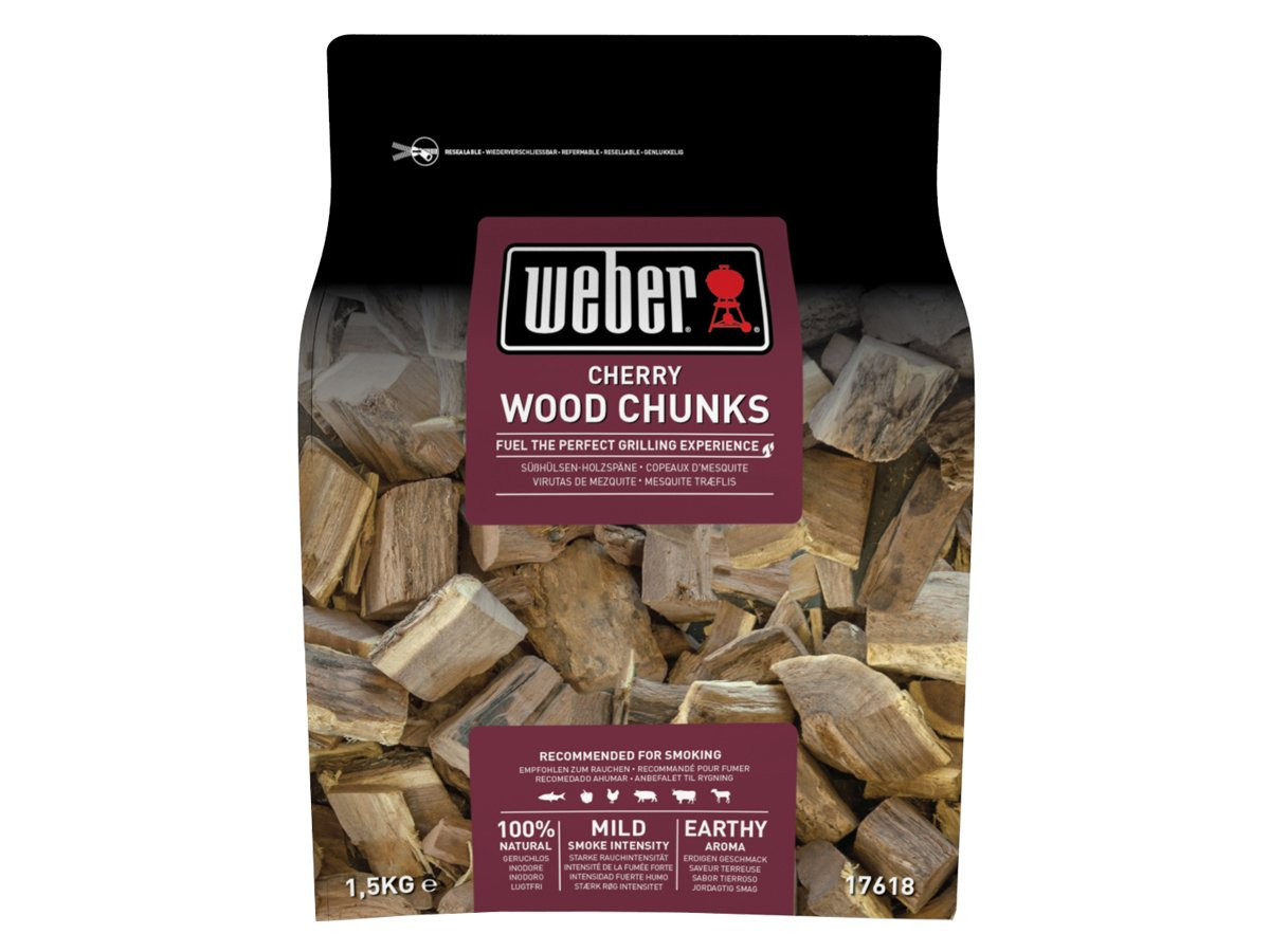 Weber Smoking wood chunks – körsbär