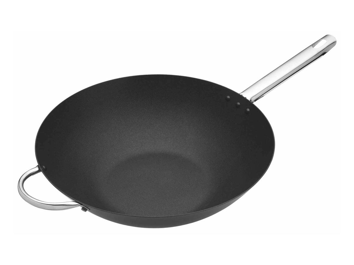Kitchen Craft Professionell wok kolstål 355 cm Non-stick