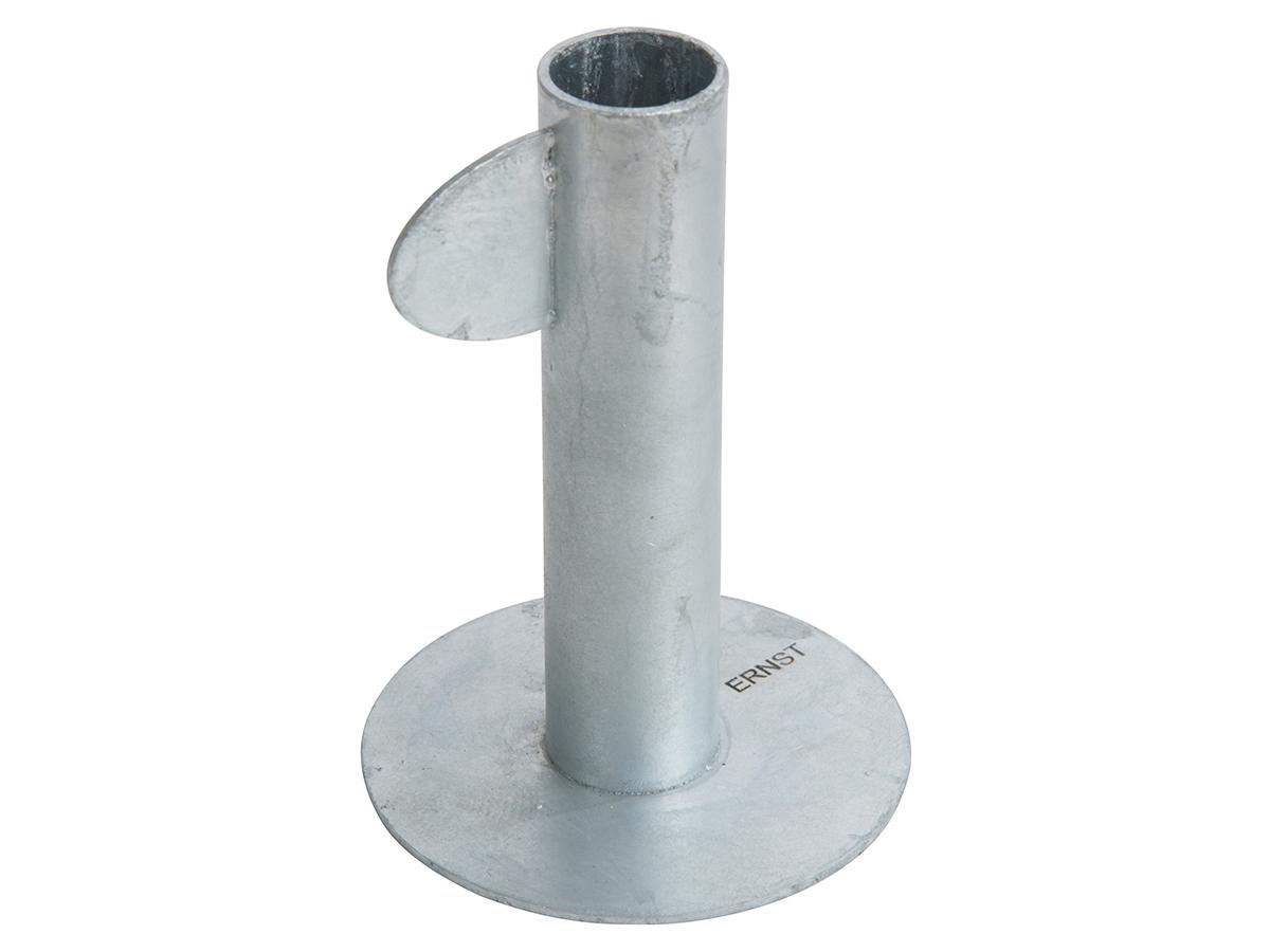 ERNST Stumpljusstake Galvaniserad Stål Hög 11 cm