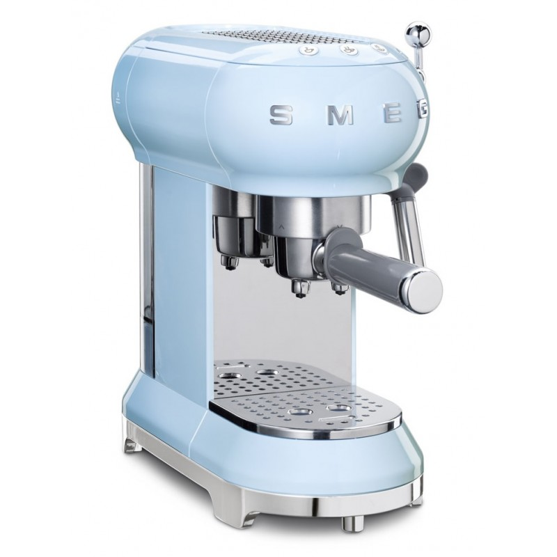 Smeg Espressomaskin Pastellblå