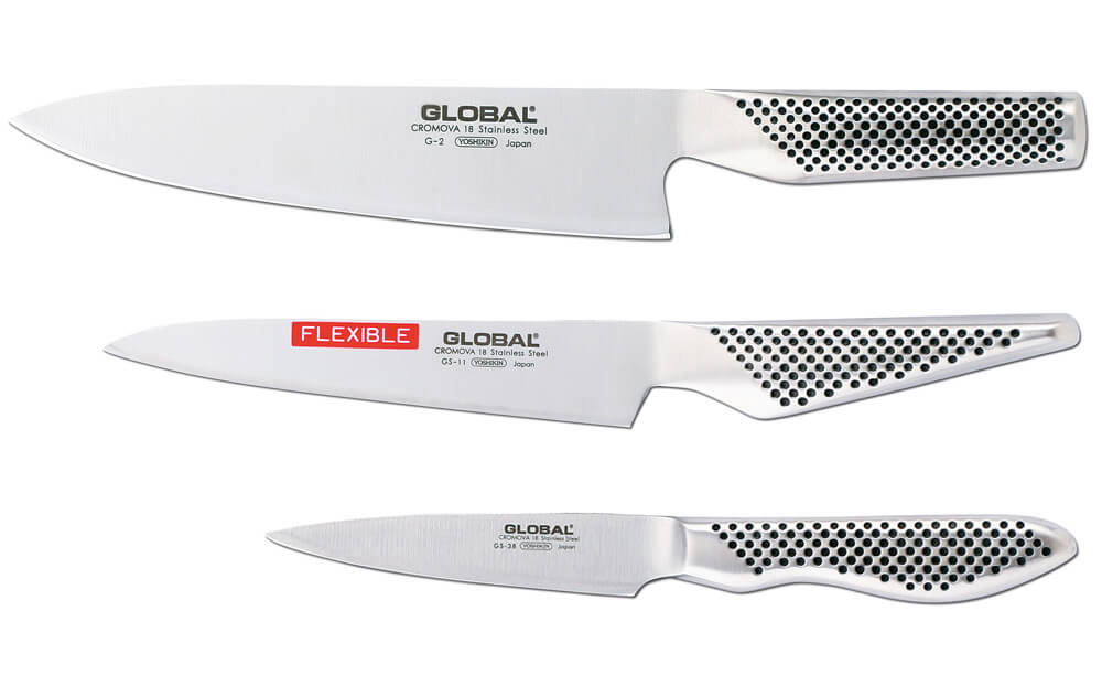 Global Knivset med G-2 GS-11 samt GS-38