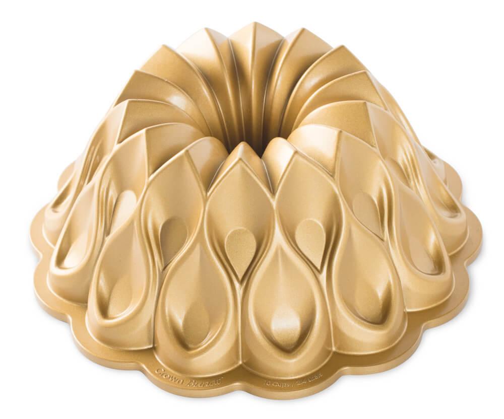 Nordic Ware Bakeform Krone 70th Anniversary Gold