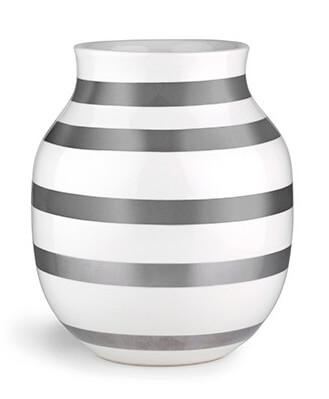 Kähler Omaggio Vas 200 mm Silver