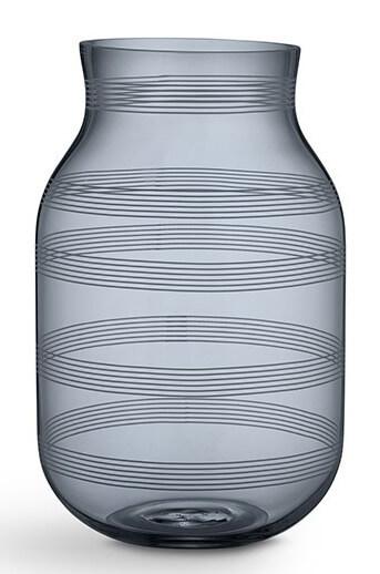 Kähler Omaggio Vas 280 mm Stålblå