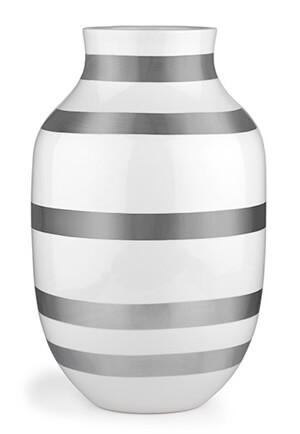 Kähler Omaggio Vas 305 mm Silver