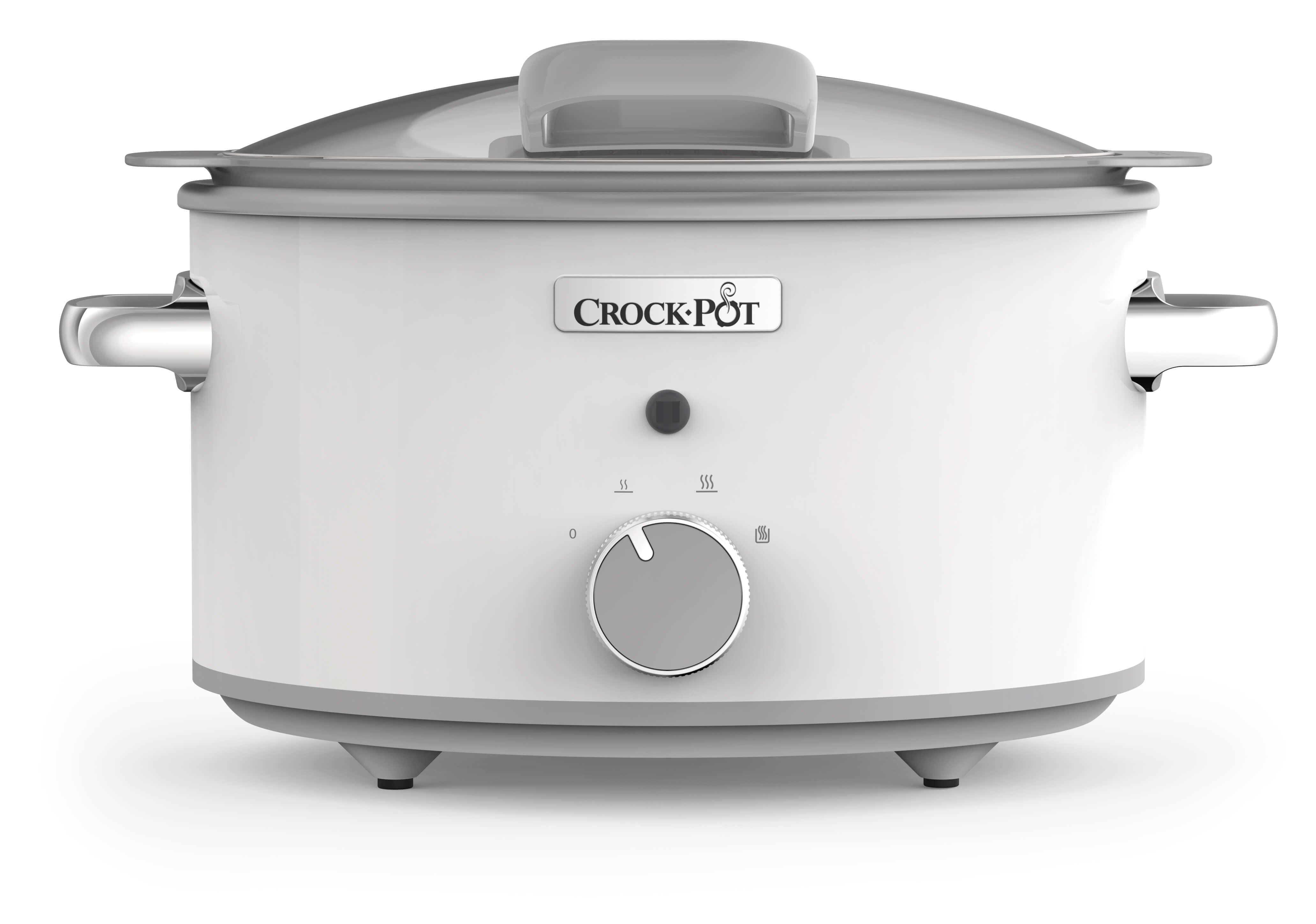 Crock Pot Slowcooker 4,5L One Pot Cooking Duraceramic Manuell Vit