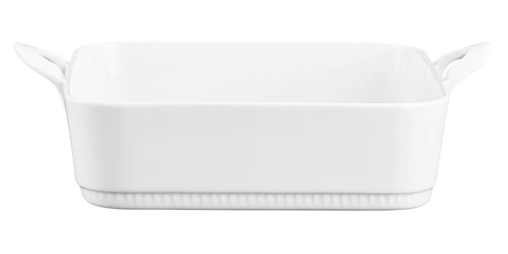 Pillivuyt Gastronomi Toulouse Fat Rektangulärt Vit 29 cm