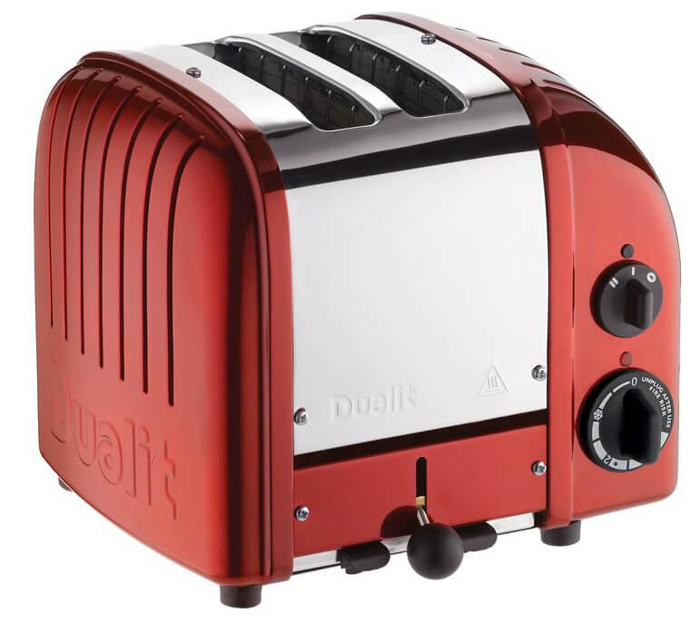 Dualit Brödrost Classic 2-skivor Metallic Apple Candy Red
