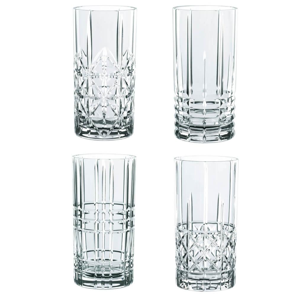 Nachtmann Highland Longdrinkglas 37,5cl 4-p