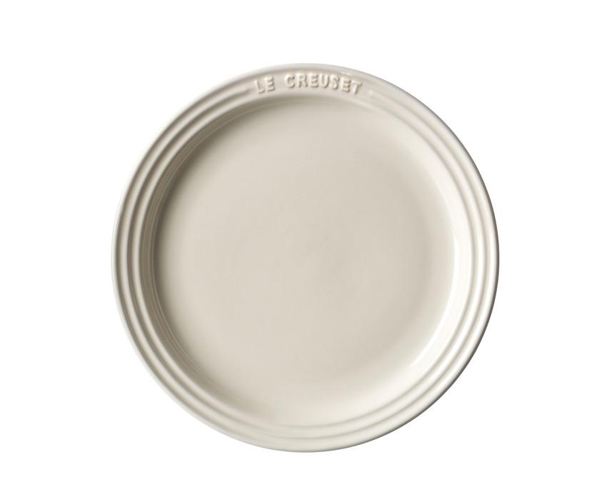 Le Creuset Middagstallrik 27 cm Creme