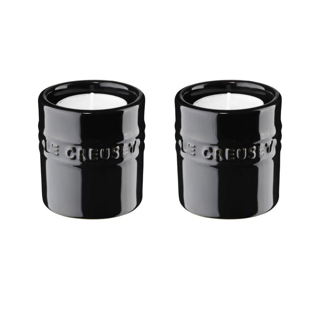 Le Creuset Ljuslyktor, 2-pack, 6 cm Black