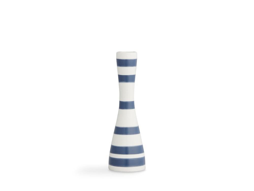 Kähler Omaggio Ljusstake 20 cm Stålblå