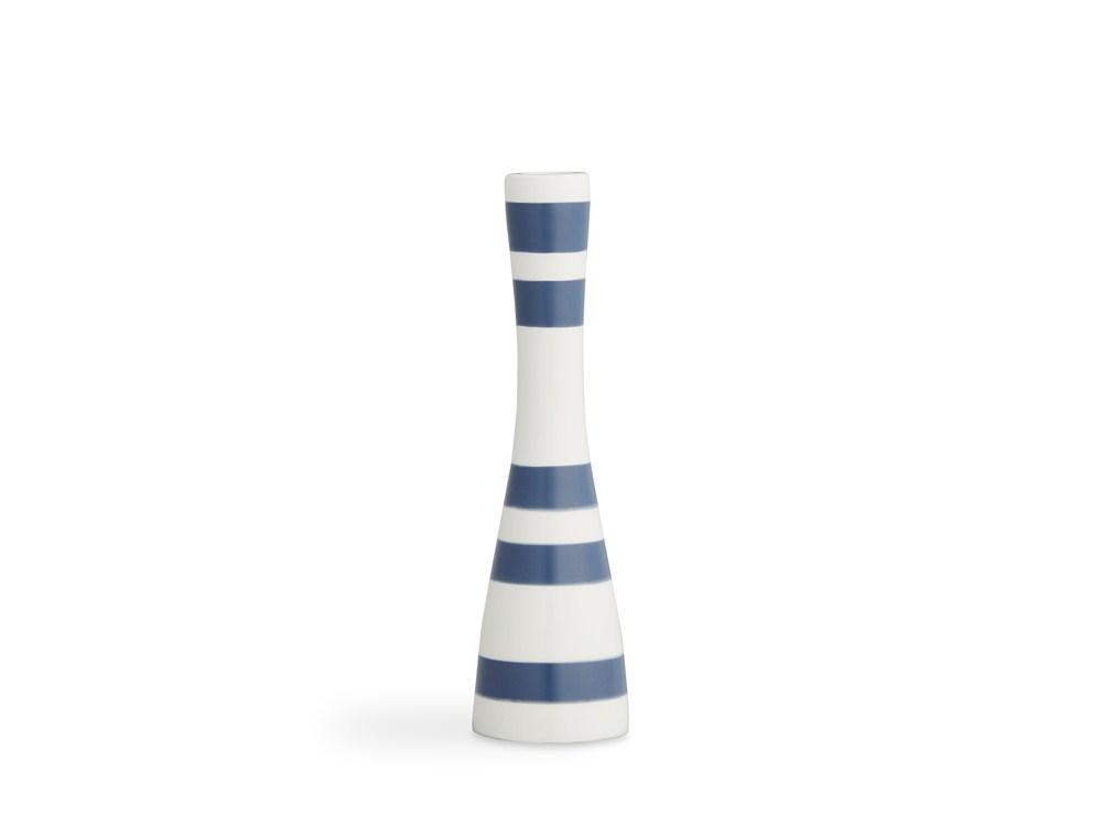 Kähler Omaggio Ljusstake 24 cm Stålblå
