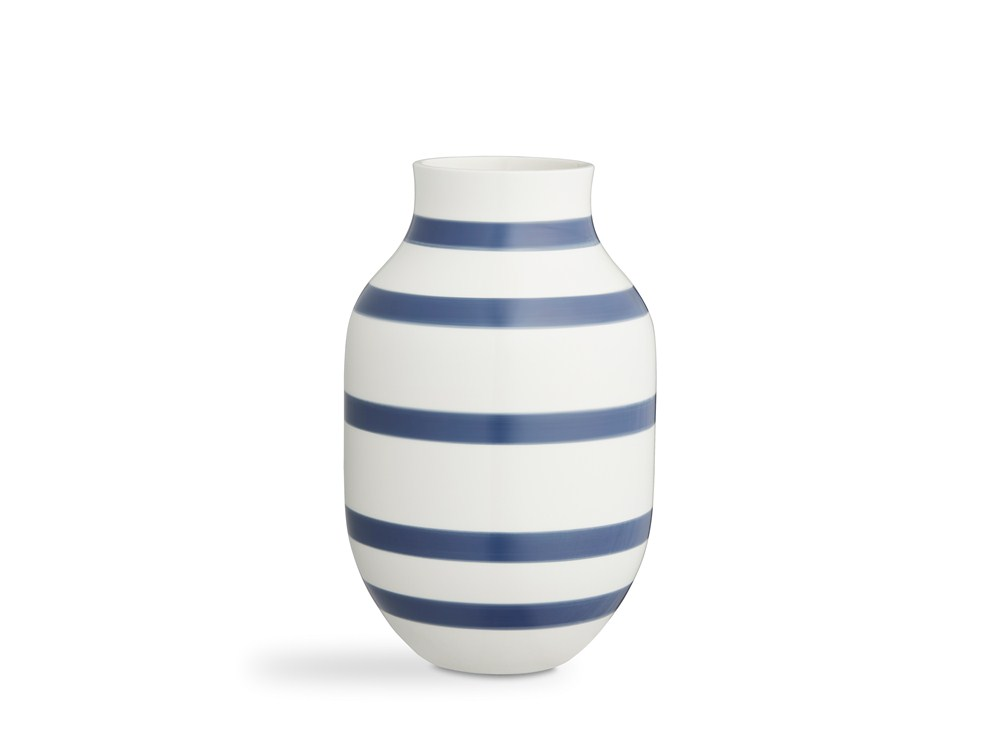 Kähler Omaggio Vas 30,5 cm Stålblå
